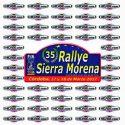 Pegatina Rallye Sierra Morena 35