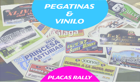 Placas Rally