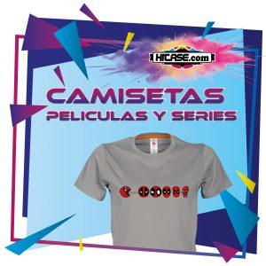 Camisetas Peliculas/Series